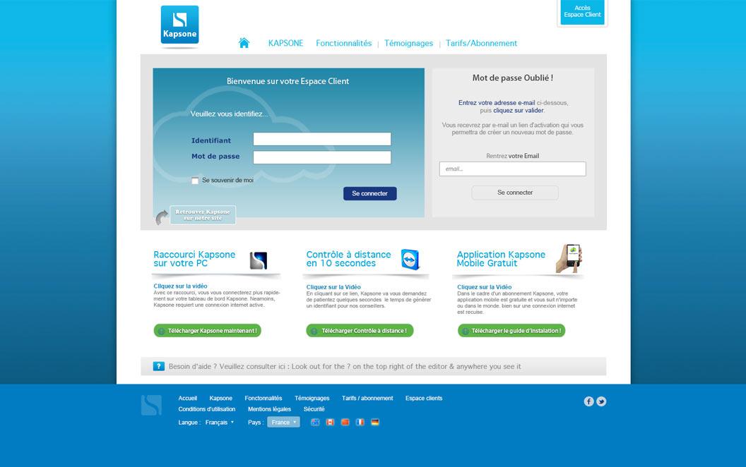 Création site internet Ardèche - Kapsone