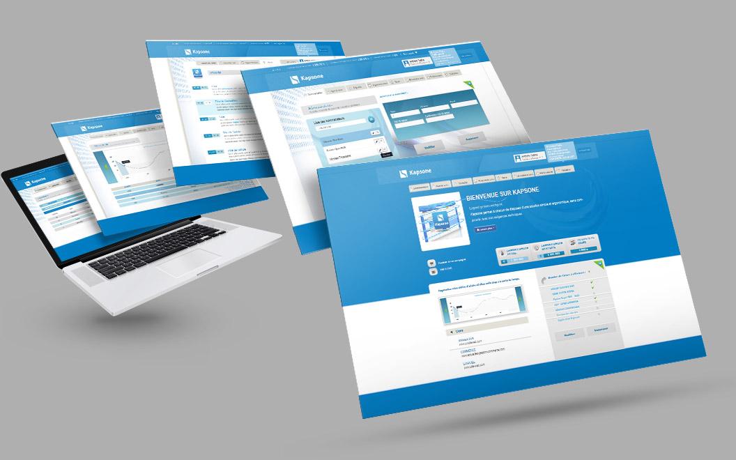 Création site internet Drôme - Kapsone