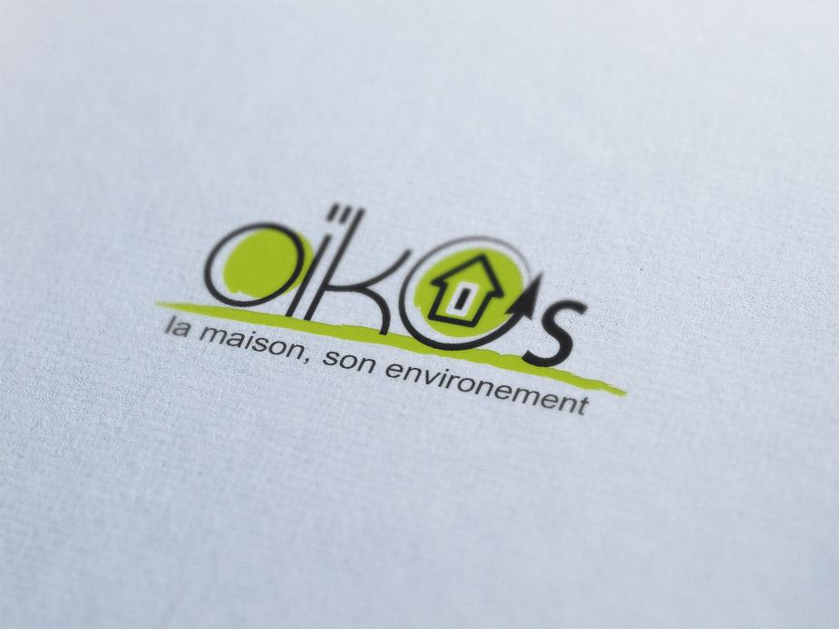 Création logo Drôme - Oïkos