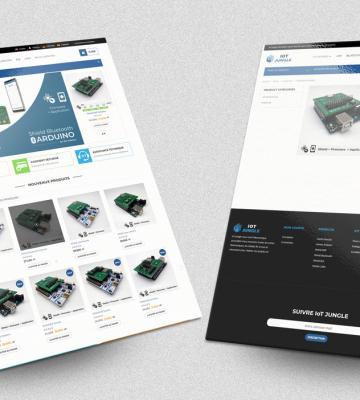 Création Site E-commerce – IoT Jungle