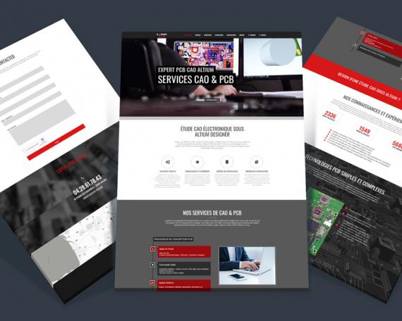 Création site internet : Expert PCB