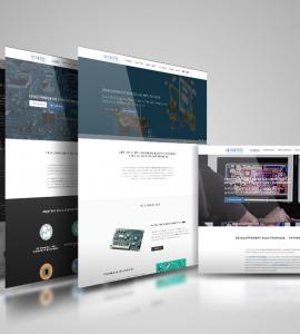 Réalisation site internet Anthemis Technologies – Drôme