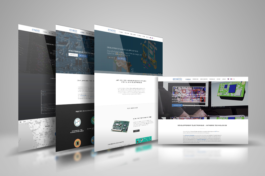 Réalisation site internet - Anthemis Technologies
