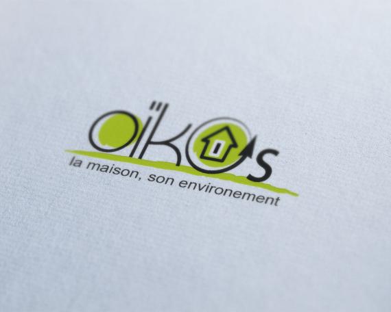 Oikos – Création logo
