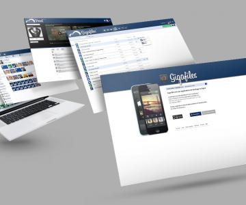 Site internet – Giga Files