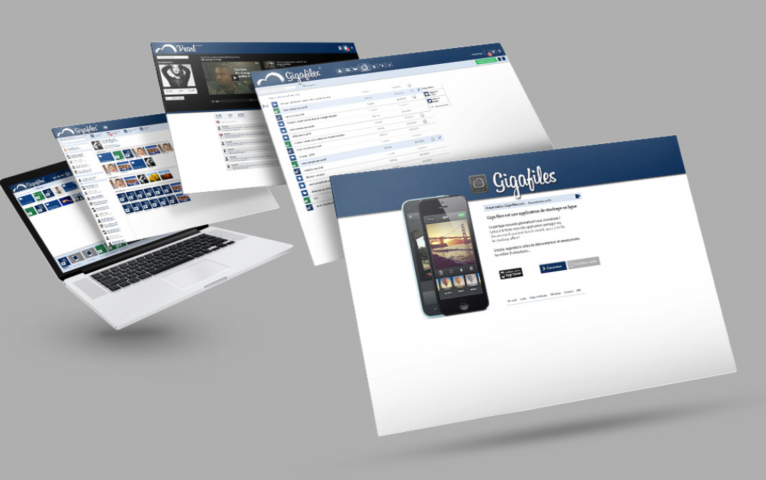 Création site internet Drôme - Giga Files